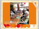 Vrijwilliger en medewerker keuken organiseren gezellig 'feesie'